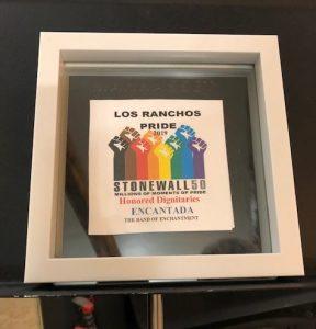 Honored dignitary-Los Ranchos